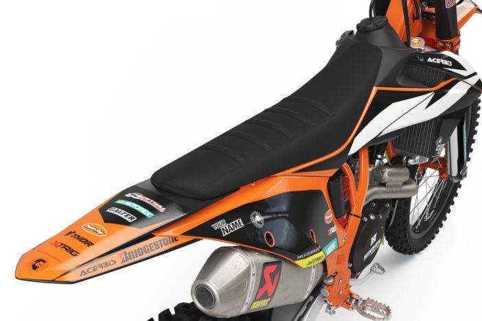 KTM Factory Dekor Detailansicht Heck