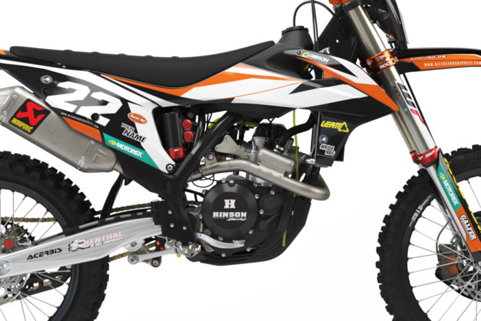 KTM Leader Dark Dekor Detailansicht