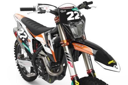 KTM Leader Dark Dekor Detailansicht Front