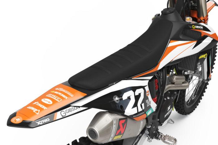 KTM Leader Dark Dekor Detailansicht Heck