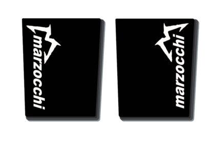 Marzocchi Gabelholm Dekor / Aufkleber in schwarz