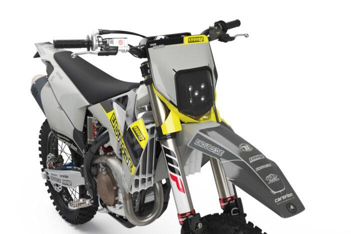 Enduro-de 2021 Dekor Detailansicht Front