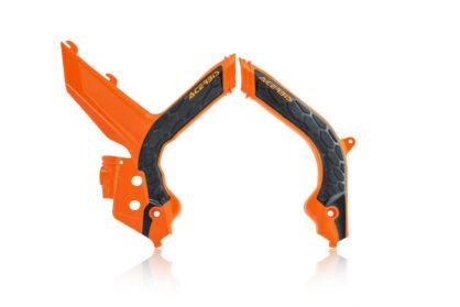 Acerbis Rahmenschutz X-Grip orange-schwarz für deine KTM