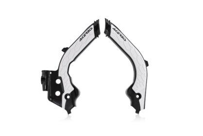 Acerbis Rahmenschutz X-Grip schwarz-weiß für deine Husqvarna und GasGas